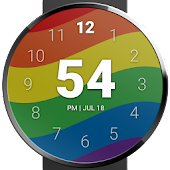 Rainbow Pride Watch Face