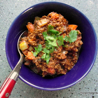 Moroccan Beef & Fig Stew.
