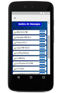Radios de Nicaragua en Vivo screenshot 1