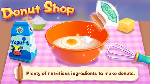 Donut Shop - Kids Cooking Game  screenshots 1