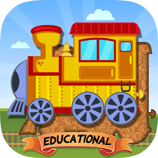 适于儿童的火车拼图 – 教育版 教育 LOGO-玩APPs