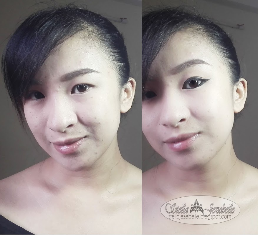 eyeliner, winge dliner, perfect winged eyeliner, adele makeup, thailand, thai makeup artist, thai beauty, contact lens, korean makeup, waterproof makeup, pinay beauty blogger, pinay makeup artist,
