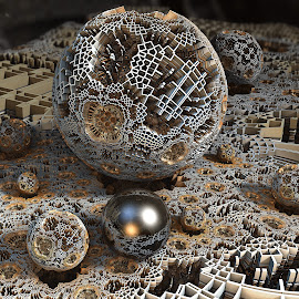MB3D - 703 by Siniša Dalenjak - Illustration Abstract & Patterns ( mandelbulb, 3d, fractal )