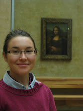 Photo: Holly and the Mona Lisa... who has the most mischievous smile