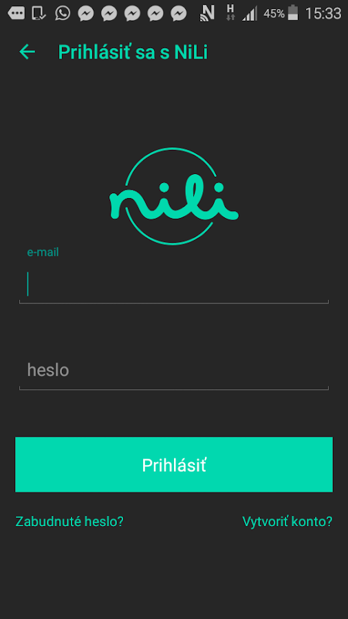 NiLi- screenshot