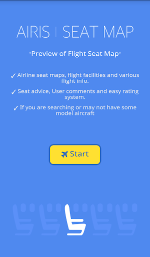 Flight Seat Map Info - Airis