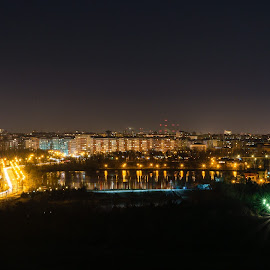 by Dolcos Valeriu - City,  Street & Park  Night