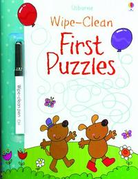 Wipe Clean First Puzzles - Usborne