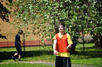 Photo: Den míčové trampolíny v rámci hodin tělesné výchovy (školní hřiště, čtvrtek 16. květen 2013).