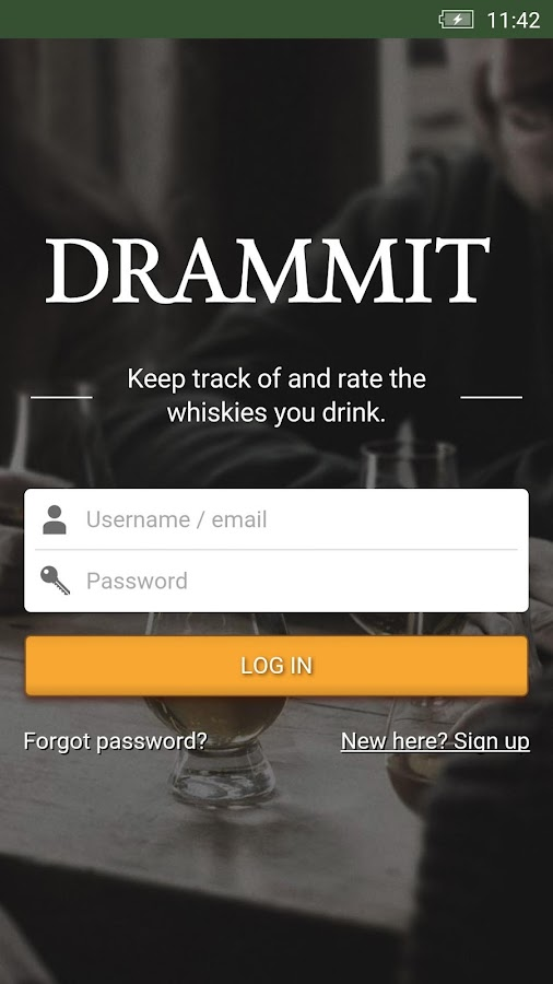 Drammit - Social Whisky App- screenshot