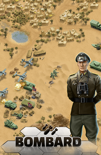 1943 Deadly Desert - a WW2 Strategy War Game 1.3.0 4