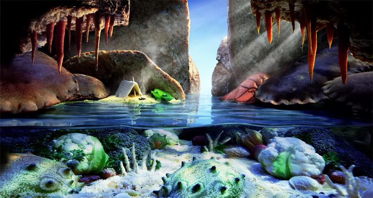 Пещера крабов
