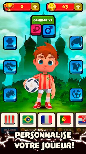 Télécharger Gratuit ⚽Star Dribble - Runner du Football Mondial mod apk screenshots 2