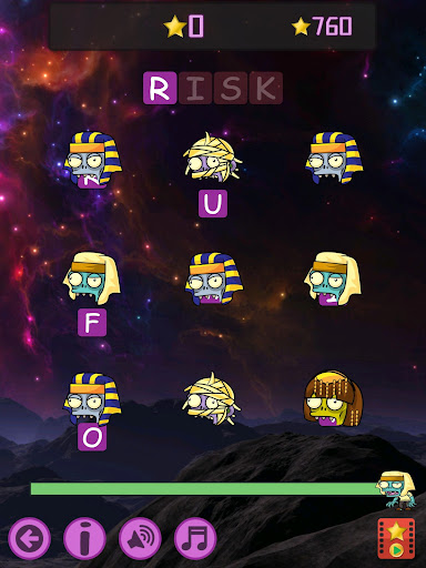 Words vs Zombies - fun word puzzle game android2mod screenshots 18