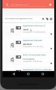 Tunisie Tayara Alerte Vente Immobilier - náhled