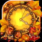 Otoño Reloj HD Fondos Pantalla Animados icon