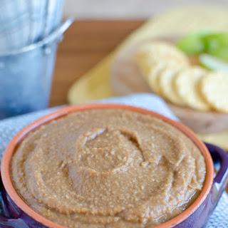 Apple Butter Hummus Dip