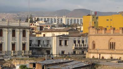 Photo: Esalud, Palacio Arzobispal y otros edificos desde el techo de La Catedral