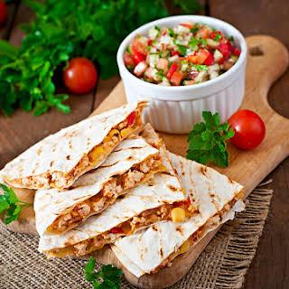 Low Calorie Low Fat Quesadilla Recipes.