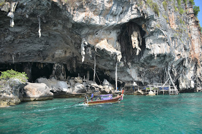 Visit Viking Cave with its famous bird nests