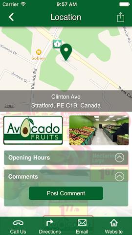 android Avocado Fruits Screenshot 2