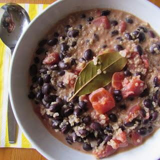 Coconut & Quinoa Black Bean Stew