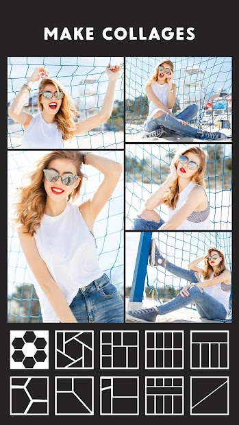 Photo Collage Maker - Photo Collage & Photo Editor Android App Screenshot