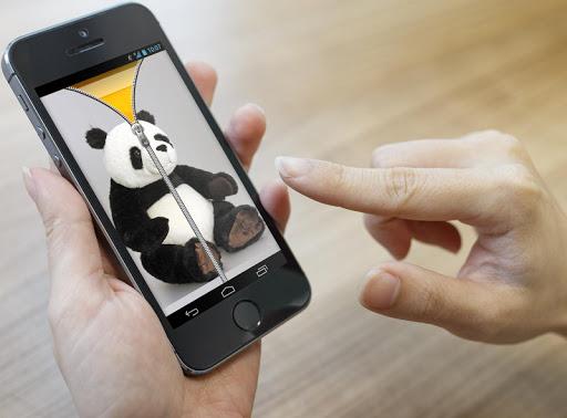 玩個人化App 熊貓拉鍊鎖屏免費 APP試玩