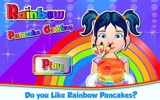 Code Triche Rainbow Pancakes Cooking APK MOD screenshots 1