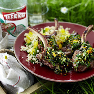 Lamb Chops With Cous Cous and Gremolata