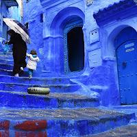 Pioggia nel blu di