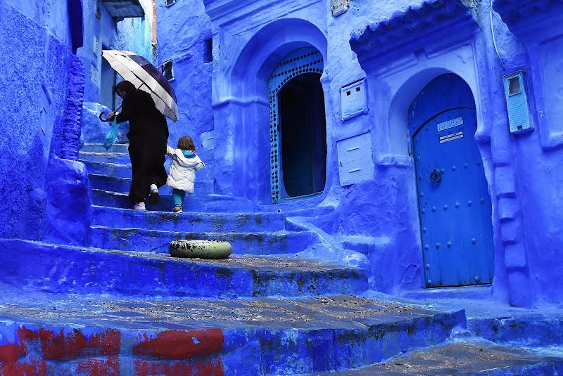 Pioggia nel blu di BASTET-Clara