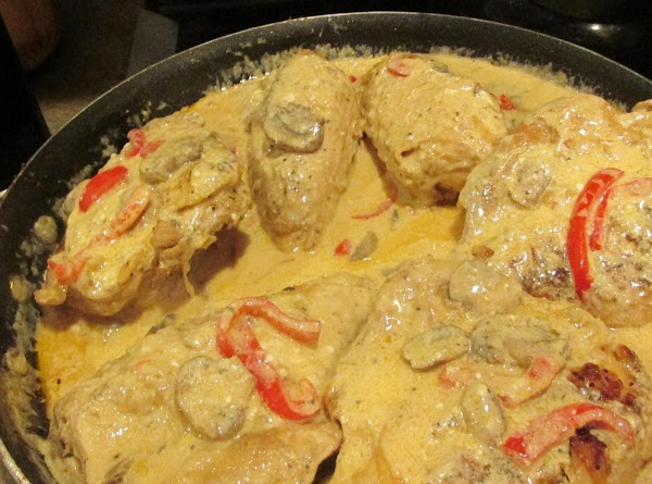 Return Chicken to skillet & cover with a tight lid and heat on VERY...