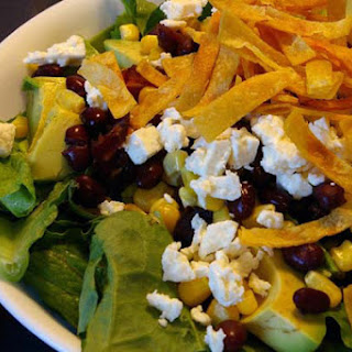 Santa Fe Salad with Peanut Lime Vinaigrette