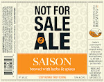 Half Moon Bay Brewing Co. Not For Sale Ale Saison