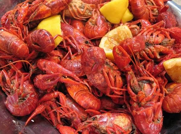 Crayfish Boil Recipe