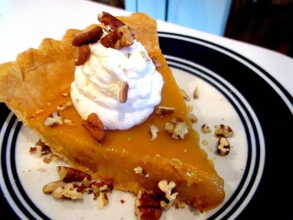 ~ Caramel Pie ~ Aunt Louises Recipe