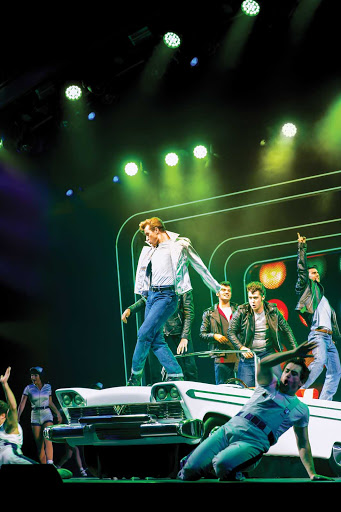 "harmony-of-the-seas-grease.jpg - Catch the revival of the Broadway hit ""Grease"" during your cruise on Harmony of the Seas."
