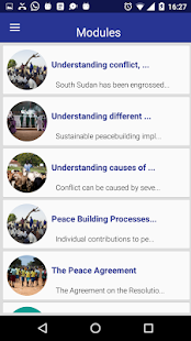 Peace App South Sudan- screenshot thumbnail