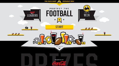 Photo: Site of the day 18 October 2012 http://www.awwwards.com/web-design-awards/buffalo-wild-wings-protect-the-football