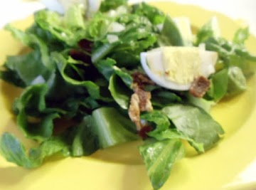 Romaine Wilted Salad Recipe