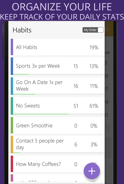 Habit Tracker Screenshot 1