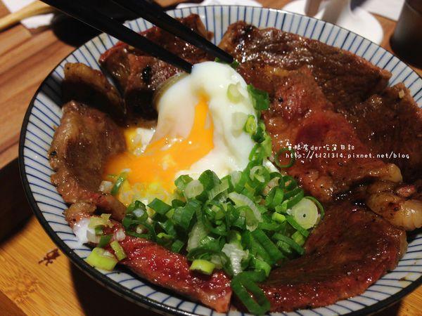 滿燒肉丼食堂(青海店) 肉食族的天堂,肉片堆滿滿看不見白飯啦