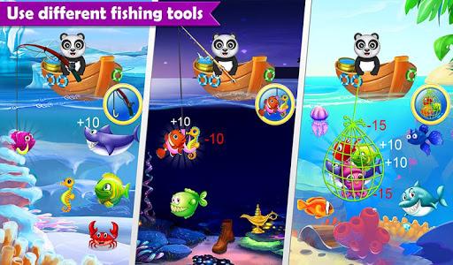 Happy Fisher Panda: Ultimate Fishing Mania Games 2.0 {cheat|hack|gameplay|apk mod|resources generator} 4