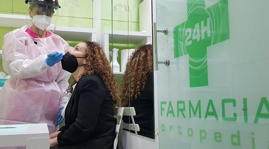 Los test de antígenos en farmacias 'triunfan' entre los almerienses
