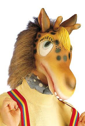 Mask, giraff