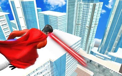 Eye Laser Superhero: Strange Flying Action Hero - náhled