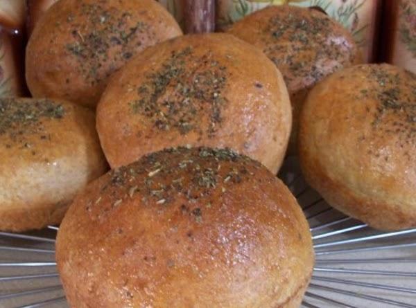 Peggi's Hamburger Buns, Hot Rolls, Loaf Bread Recipe