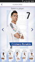Screenshot of Real Madrid App