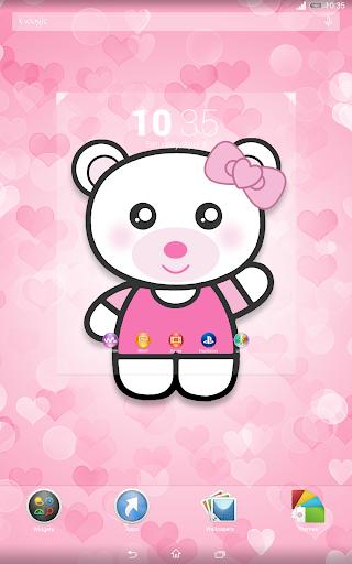 玩個人化App 美容ピンクのテーマ免費 APP試玩